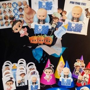 Boss baby Party Supplies